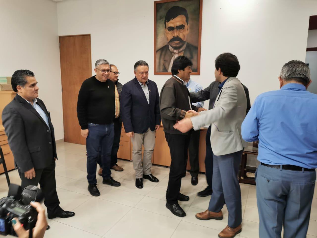EVO MORALES Y DIRIGENTES DE MAS COMIENZAN PLANEACIÓN DE CAMPAÑA ELECTORAL