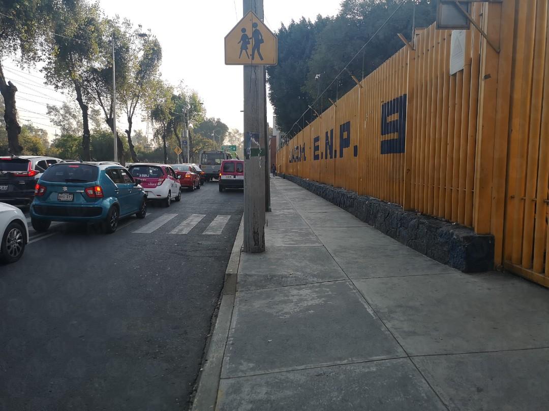 ENCAPUCHADOS TOMAN LAS INSTALACIONES DE LA PREPA 9 DE LA UNAM