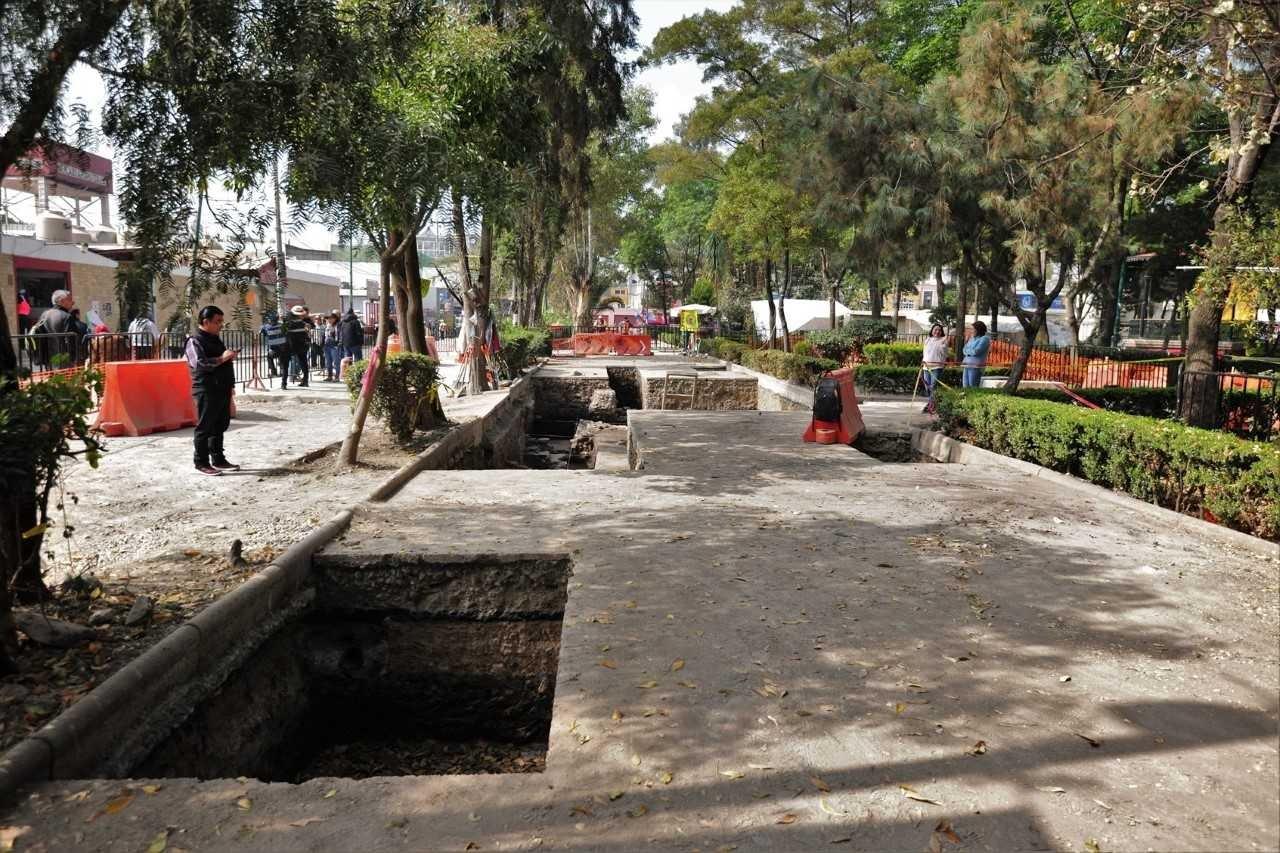 HALLAN PLATAFORMA DOMÉSTICA PREHISPÁNICA EN AZCAPOTZALCO