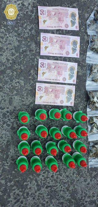 Capturan a tres por vender dulces con mariguana en la UNAM