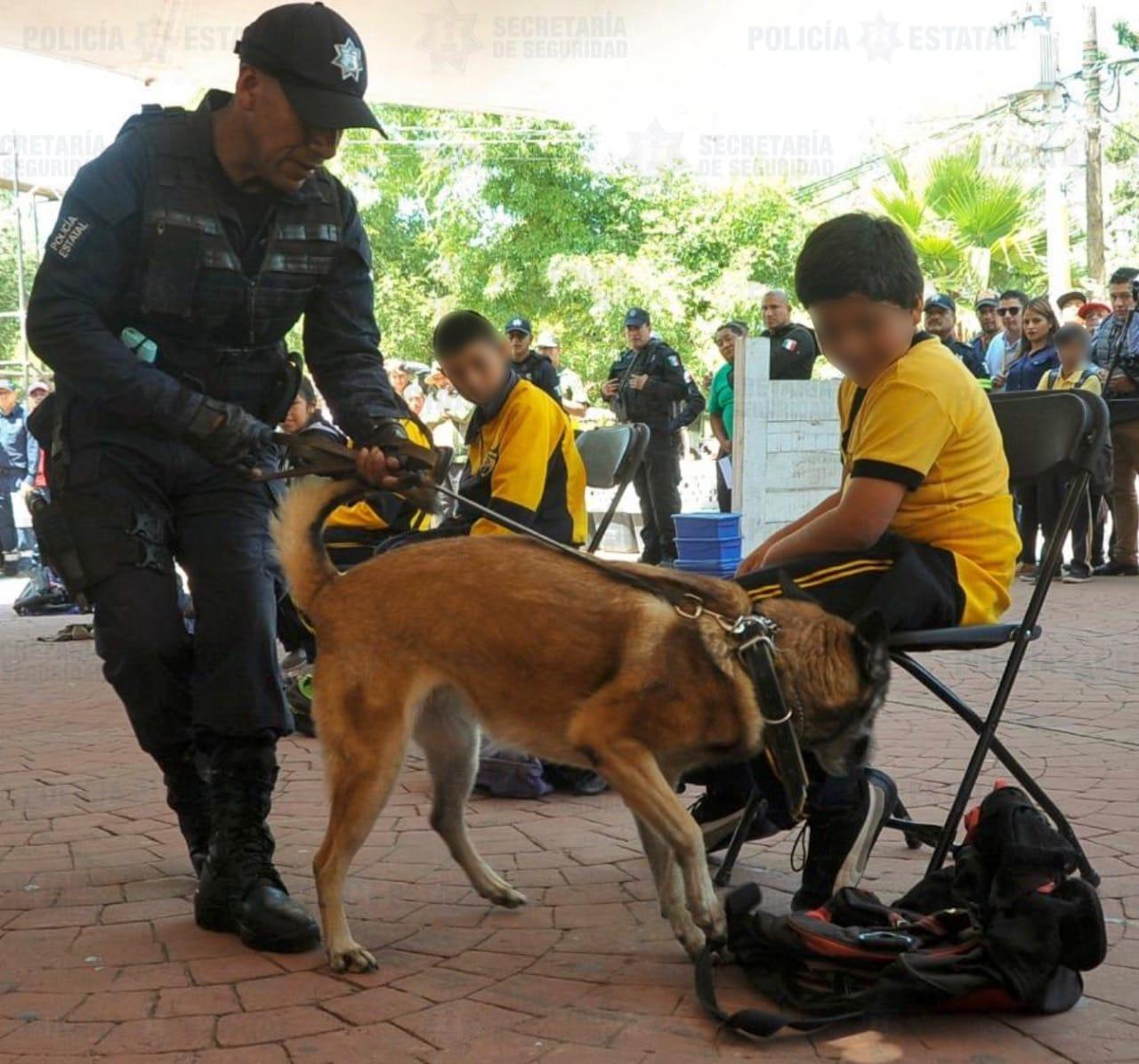 """SE MANTIENE EN ESCUELAS MEXIQUENSES EL OPERATIVO """"MOCHILA SEGURA"""""""