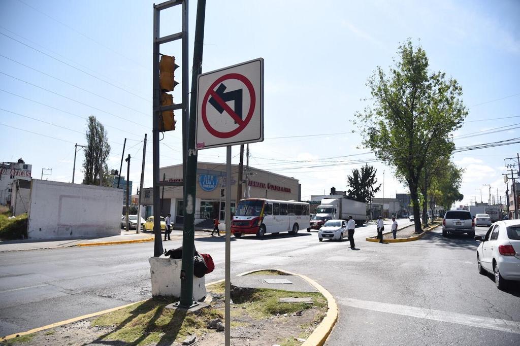 INICIAN CAMBIOS OPERATIVOS EN CUATRO VIALIDADES DE TOLUCA