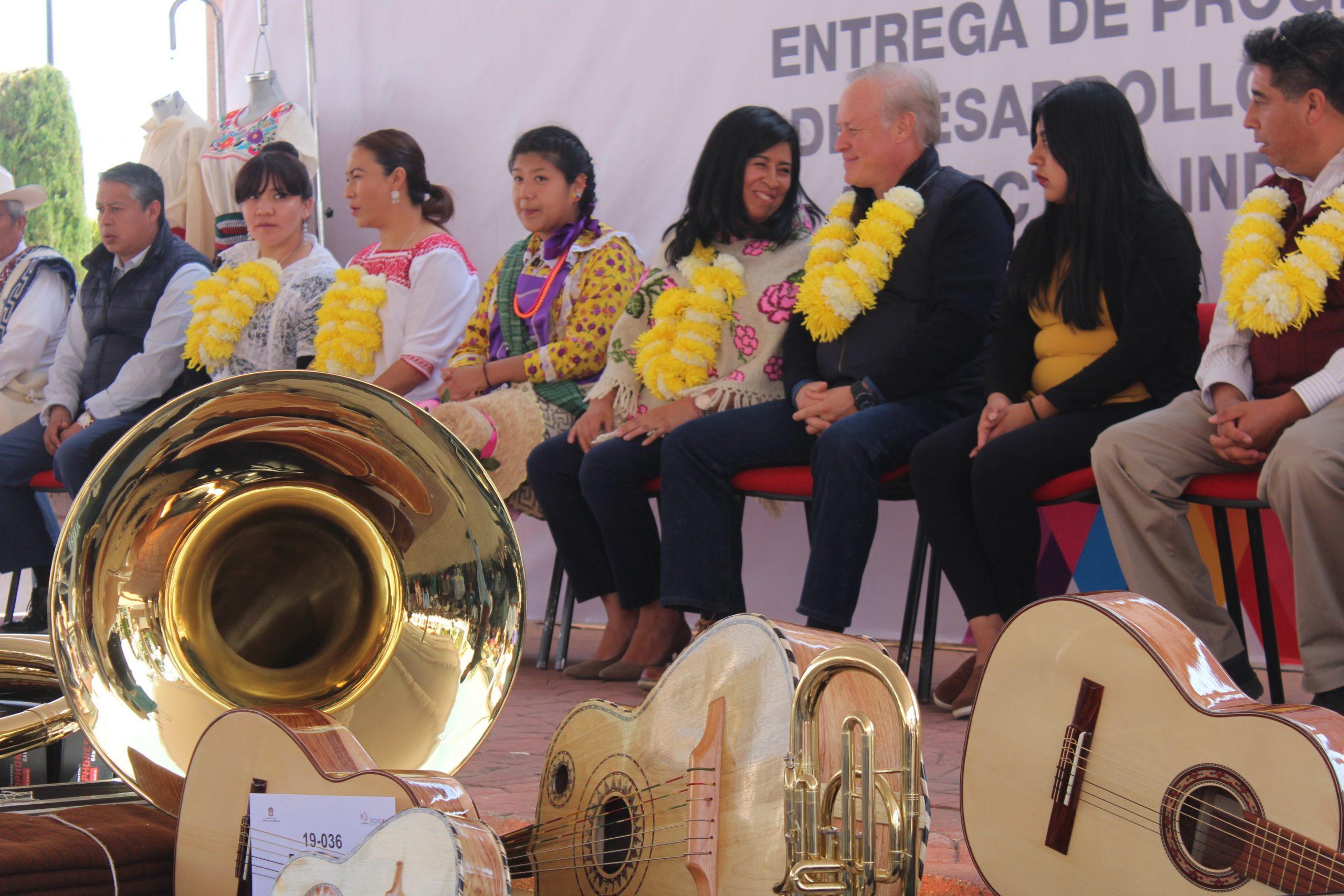 ENTREGA GEM APOYOS SOCIALES Y PRODUCTIVOS EN BENEFICIO DE COMUNIDADES INDÍGENAS