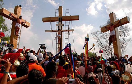 COMIENZAN ENSAYOS PARA LA PASIÓN DE CRISTO EN IZTAPALAPA