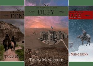 Blades of Acktar series by Tricia Mingerink