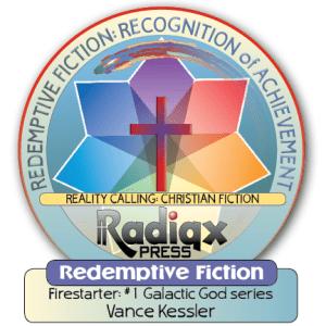 Redemptive Science Fiction Firestarter recognition of achievement award