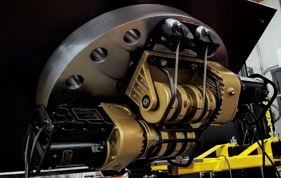 Steam Generator Manway Elevator System