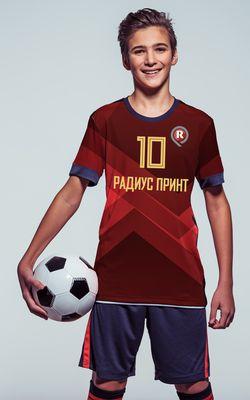 Футбольная форма, изготовление.