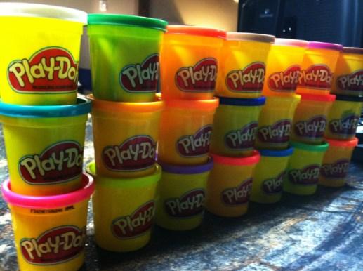 Our medium: Play-Doh