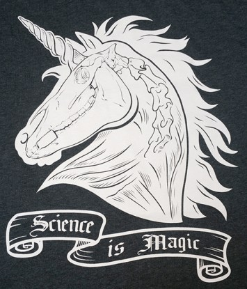 Science is Magic - Anatomical Unicorn