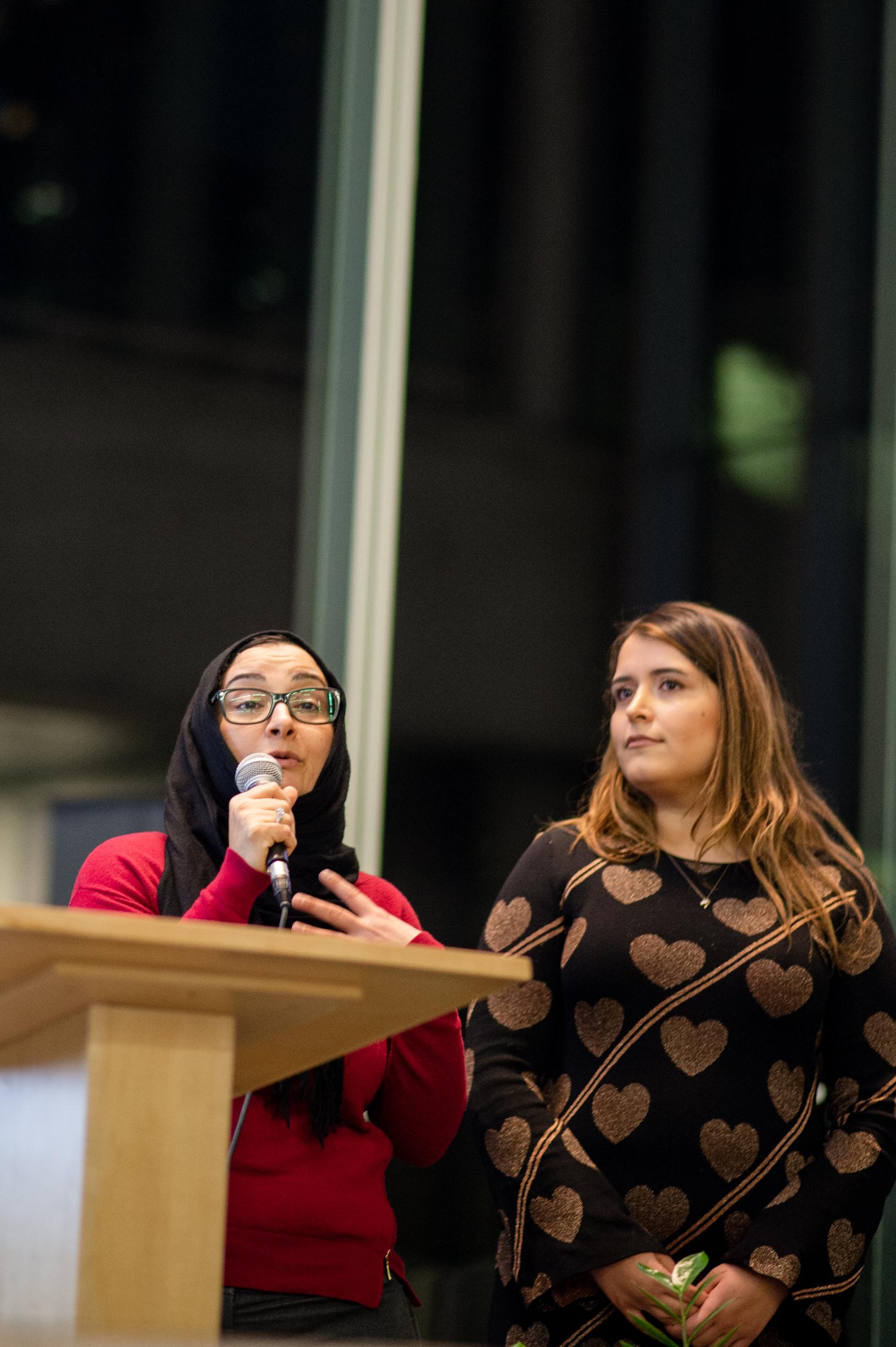 Wafaa Zaqout & Andisheh Fard