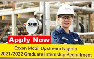 ExxonMobil Graduate Trainee 2021/2022 Applications