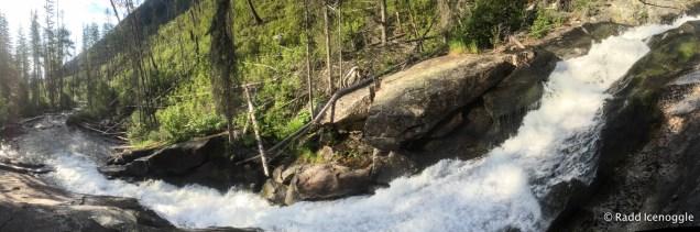 Mill Creek Falls panorama