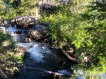 Mill Creek through the boulders