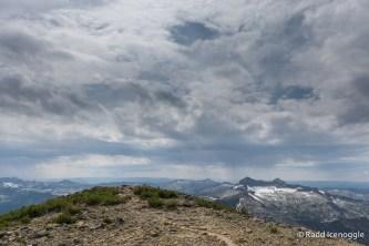 Approaching the summit of Saint Mary Peak