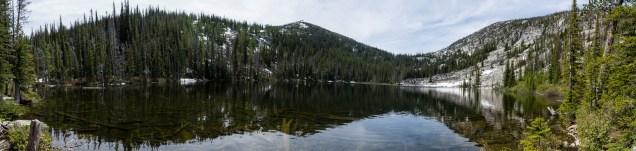 Camas Lake in panorama
