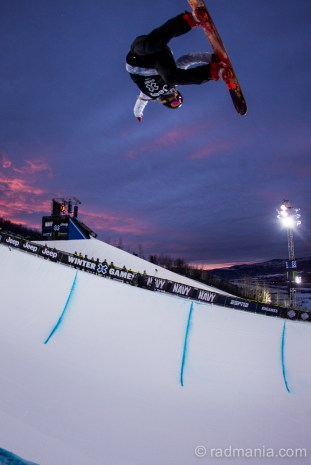 Torah Bright Bronze Medal at X Games 2015