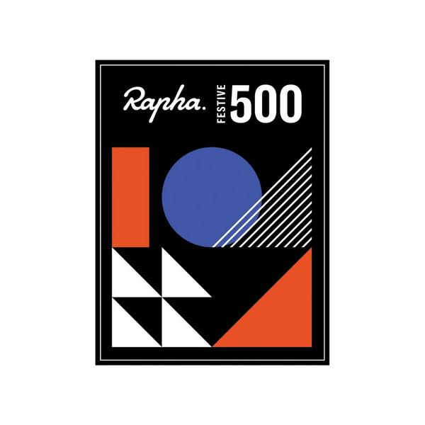 Rapha Festive 500 Badge
