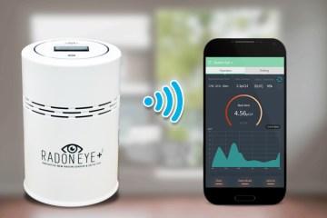 RadonEye Plus2 (BLE & Wi-Fi)