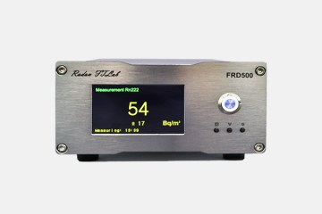 FRD500 : High sensitivity, underwater, atmospheric radon measurement instrument