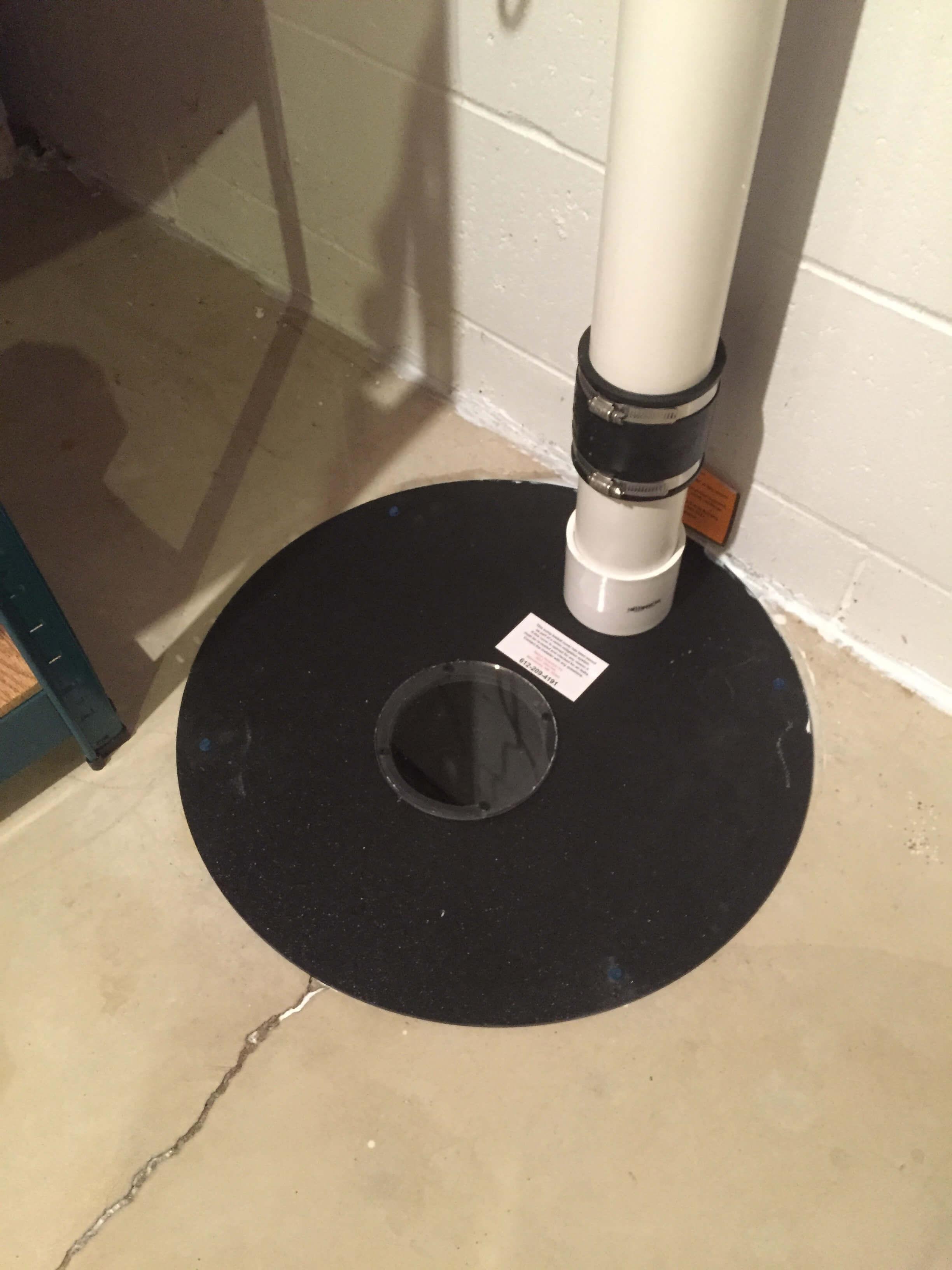 Radon Mitigation System >> Eden Prairie – 1/12/2015 – Minnesota Radon Mitigation
