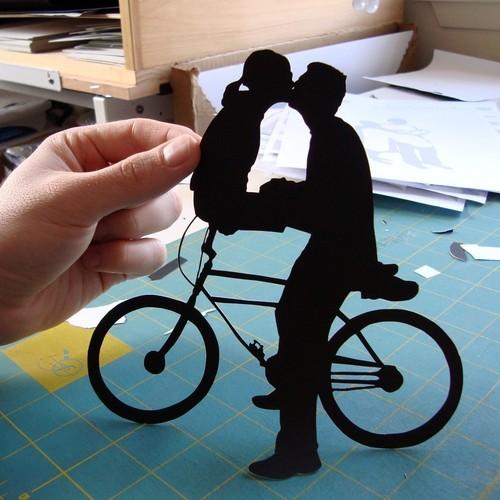 bikelove cutout