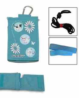 Insulin-Pump-Universal-Bag-Blue-Cute-Kittens-Design-with-Velstretch-Belt-B004D8F8SO