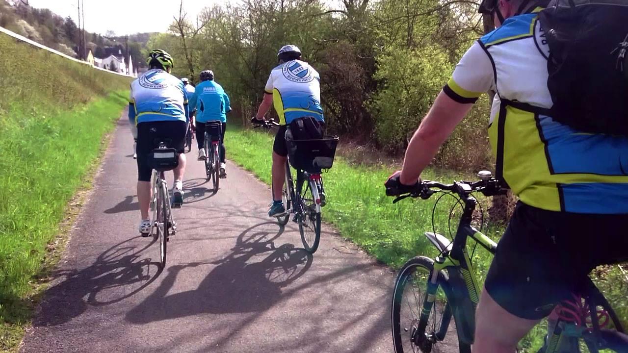 Radwandern in Schweinfurt