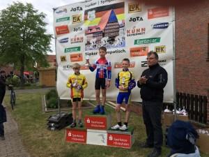Erneut ein zweiter Platz für Paul Michaelis (U11) in Borsum