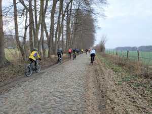 Denkmalgeschütztes Teilstück des Ilmenauradwegs zwischen Holxen und Suderburg