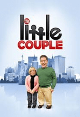 A poster for the show The Little Couple. It features two little people standing next to each under the the title of the show