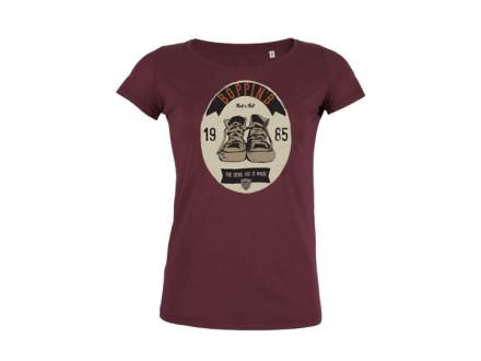 "Boppin'B T-Shirt ""Ellipse Burgundy"" Woman"