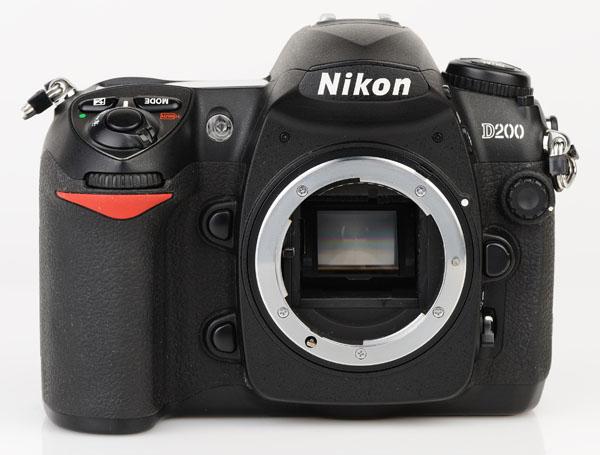 Nikon D200 front 2