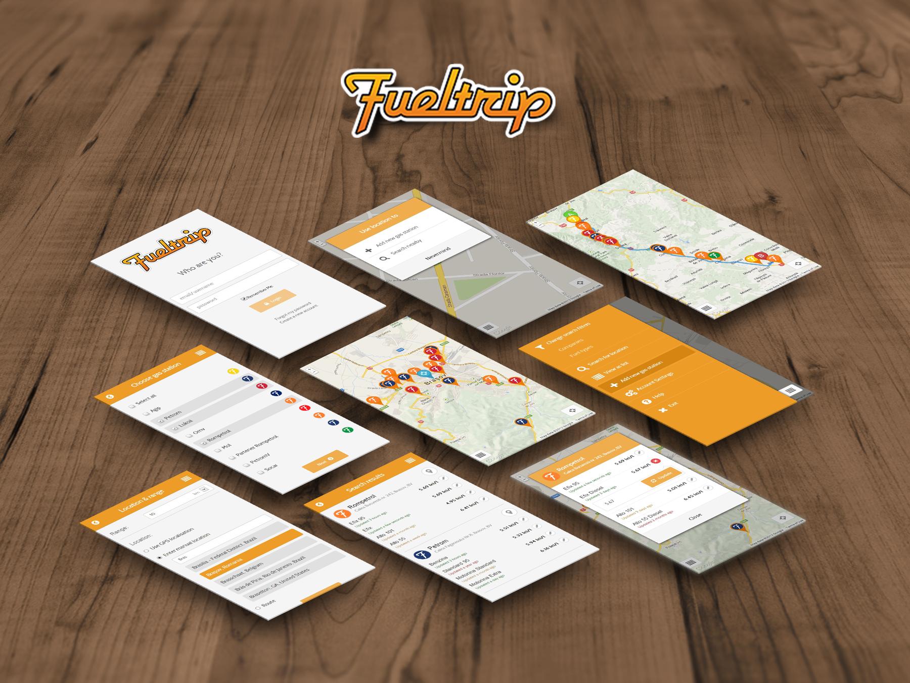 Fueltrip app