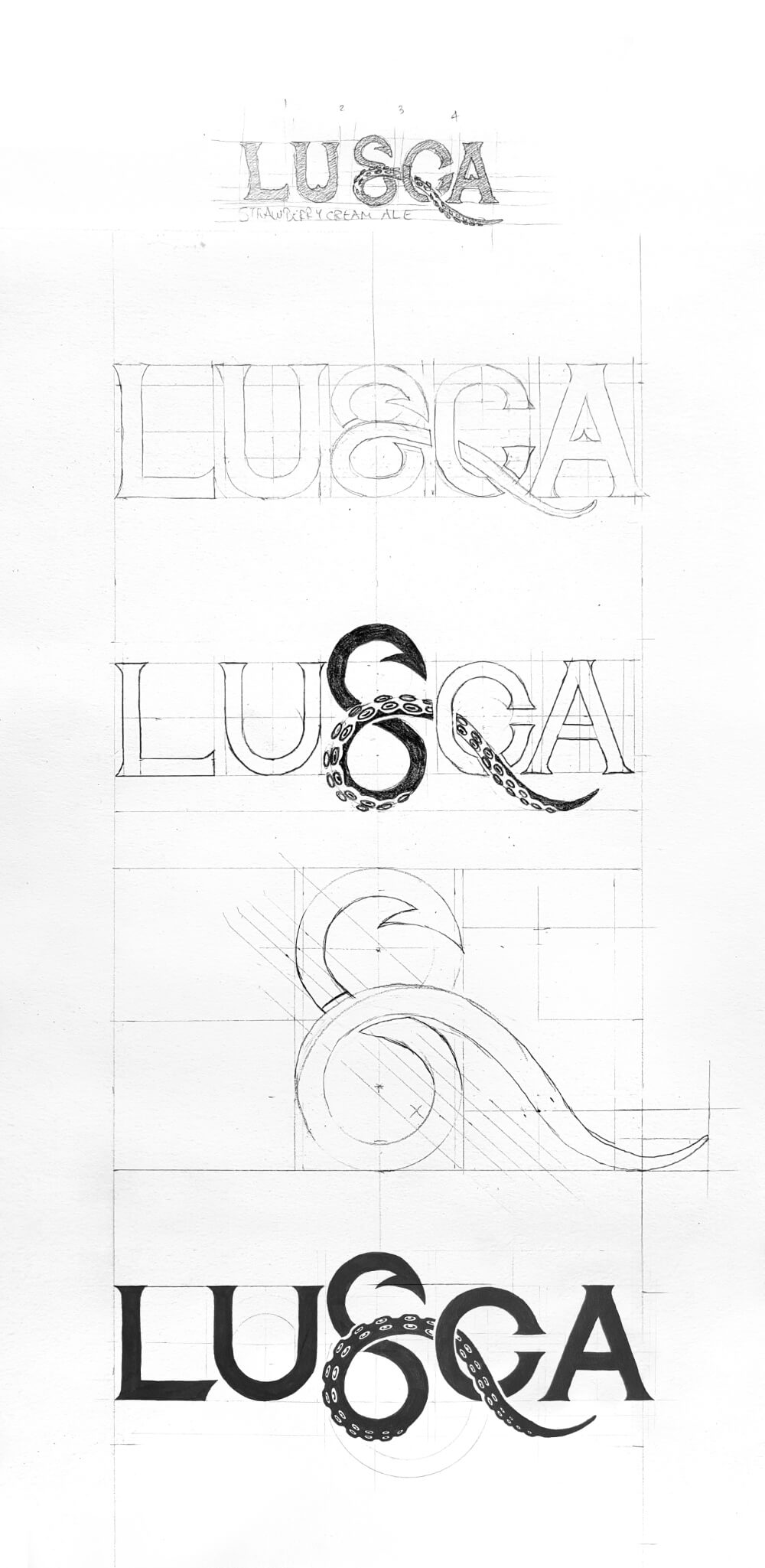 Logotype iterations