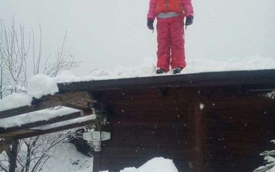 Un racconto di neve dall'Abruzzo