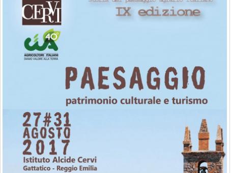 Summer school – Paesaggio, patrimonio culturale e turismo