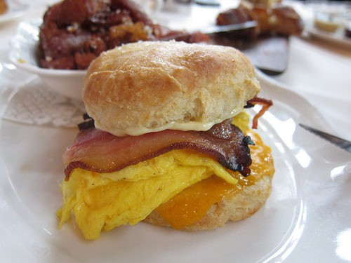 Grab Breakfast or Lunch at Bill's Market