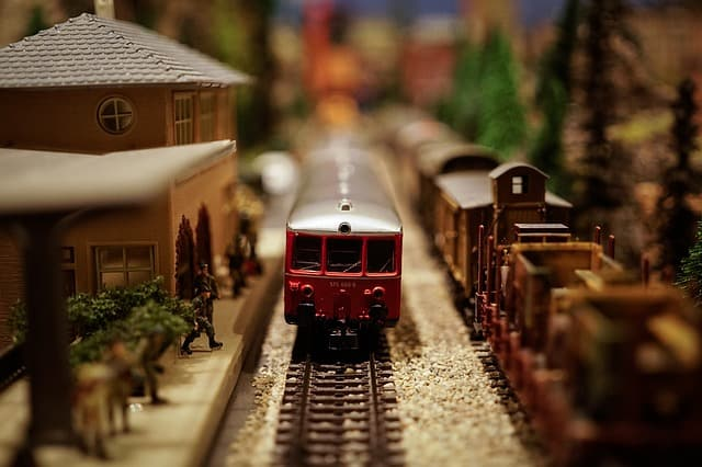 The Holiday Garden Railway Has Returned to Morris Arboretum