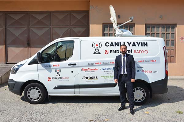 Çevik Konnektör Endüstriyel Kablo Sistemler Birim Müdürü Mehmet Karadağ