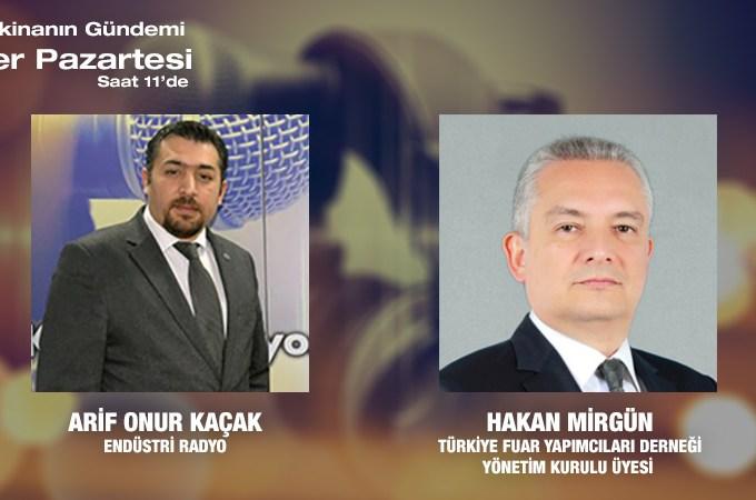 Türkiye Fuar Yapımcıları Derneği (TFYD) Yönetim Kurulu Üyesi Hakan Mirgün: COVİD-19 Salgını Sonrasında Fuarcılık Sektörü