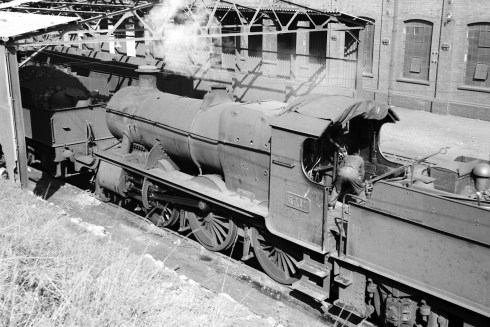 5317 at Canton Shed in 1953