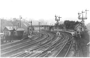 radyr station 1913 Taff Vale Railway station