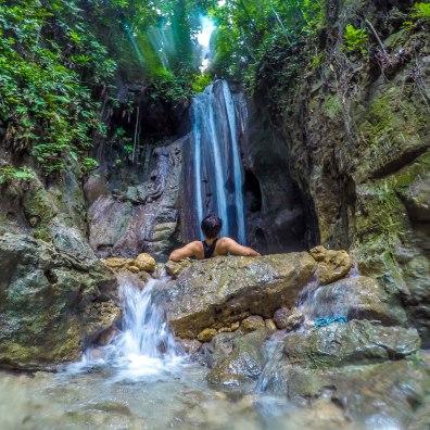 Binalayan Falls, Samboan, Cebu