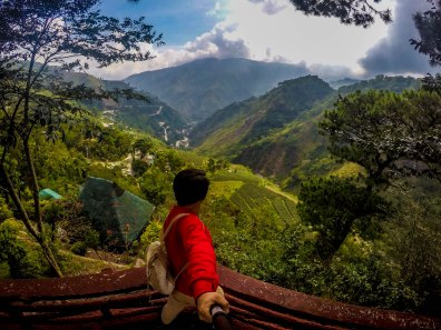 View at Kennon Road, Baguio