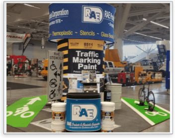 RAE Products Tradeshow Booth at the National Pavement Expo 2018