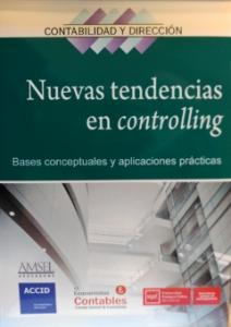 portada libro Nuevas Tendencias en Controlling