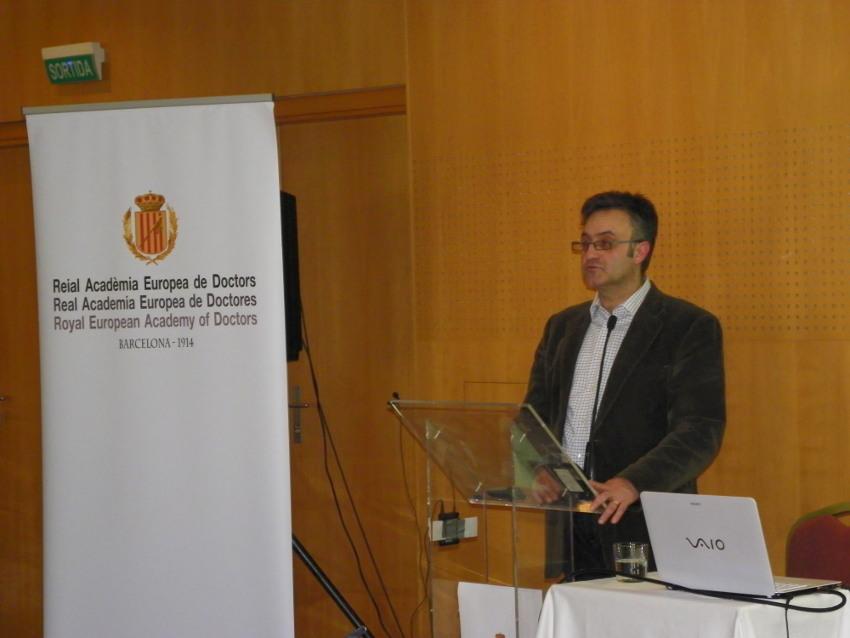 Conferencia de Manuel Murillo en Vichy Catalán