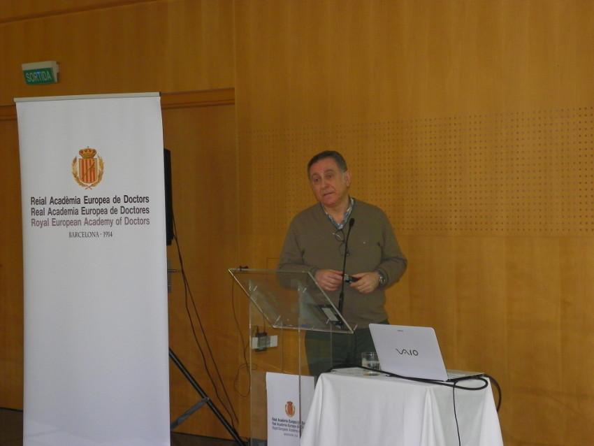 Conferencia de Carlo Maria Gallucci en Vichy Catalán