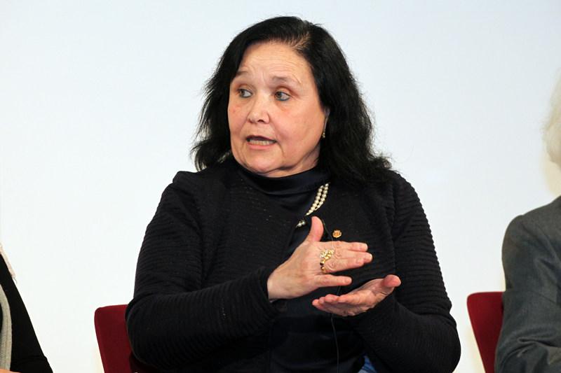 """Dra. Maria Àngels Calvo, en el debate """"Mujeres que cambian el mundo"""""""